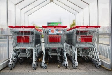 Supermarket discounter mall - shopping cart - John Castle Realtor Ottawa